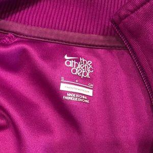 Nike Jackets & Coats - Nike Pink Track Jacket Size Small